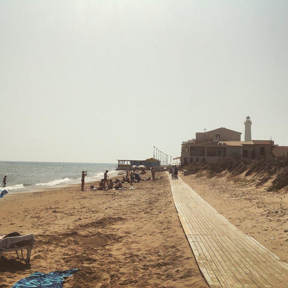 Spiaggia di Anticaglie_Punta Secca Immagine dalla pagina FB Anticaglie's Beach asicca