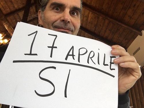 Piero Pelù su Facebook si schiera a favore del Sì per il referendum del 17 aprile 2016