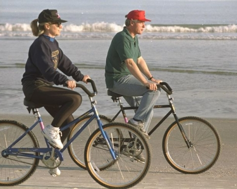 Clinton_Rides_Bike