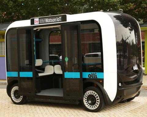 Olli, il bus stampato in 3D