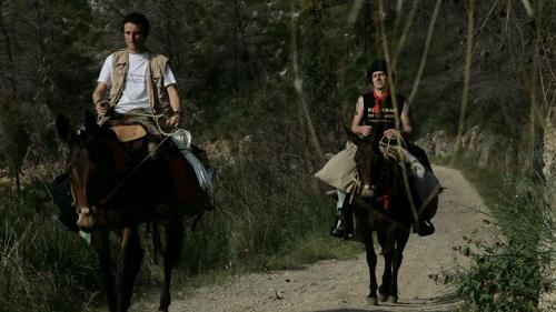 Mirko e Federico, i protagonisti del documentario La Lunga Strada Gialla