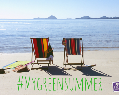 #Mygreensummer con logo