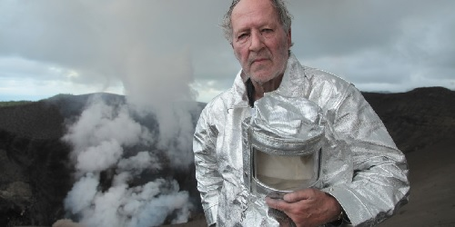 "Werner Herzog in ""Into the Inferno"""