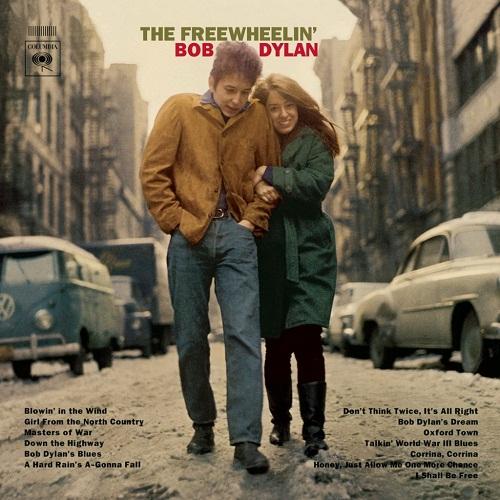 "L'album ""The Freewheelin' Bob Dylan, in cui è contenuta ""A Hard Rain's A-Gonna Fall"""