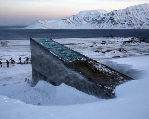 Svalbard Global Seed Vault ingresso