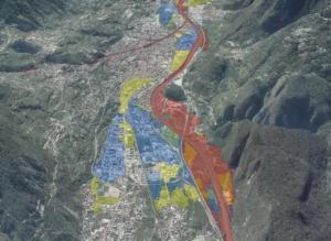 carte pericolosità alluvionale provincia TN