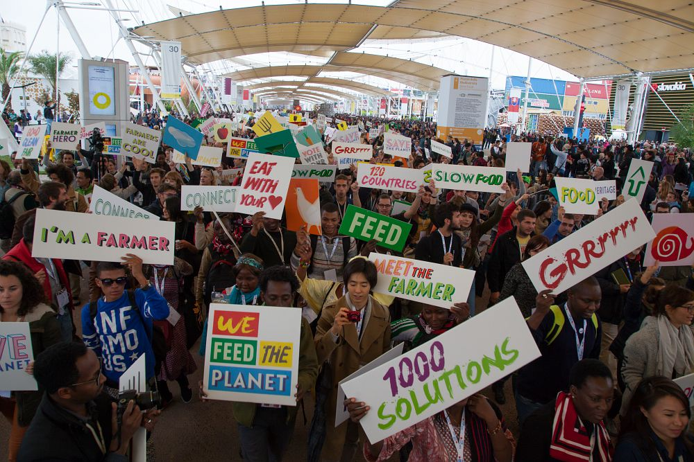 we feed the planet - agricoltura - contadini