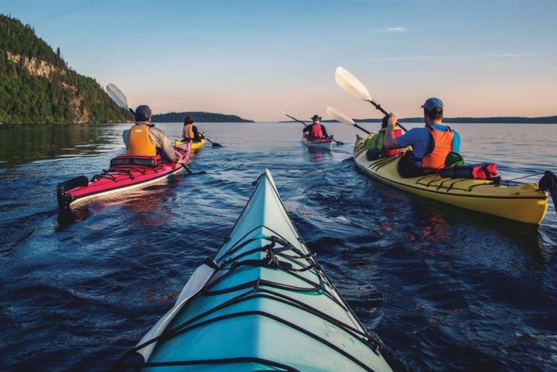 Lago superiore Water Trail, Ontario