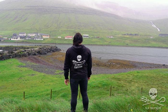 Capitano Jessie Treverton a Hvannasund (isole Faroe), luglio 2016