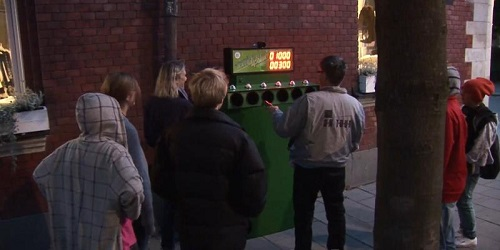 Bidoni smart - Bottle bank arcade