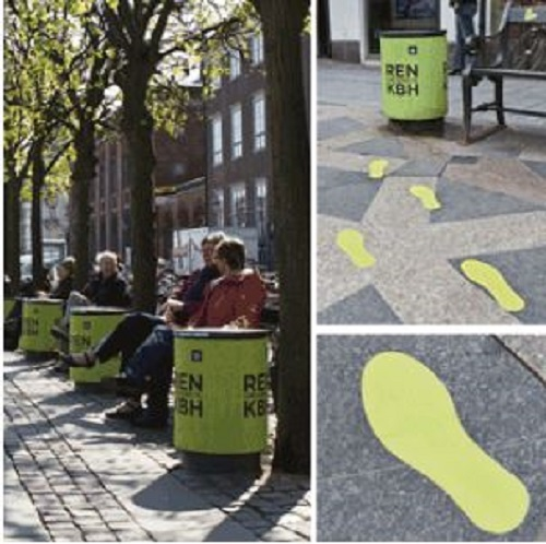 bidoni smart - impronte Copenaghen