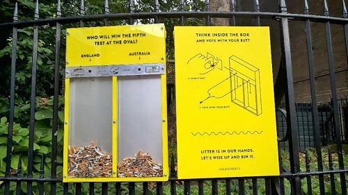 Smart bins - Hubbub