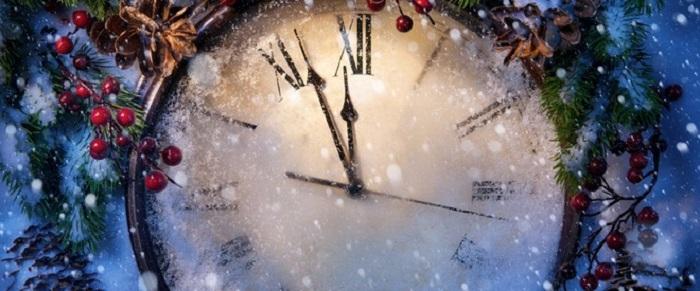 orologio capodanno