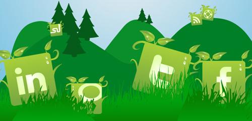 Social-Media-Green