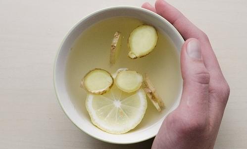 Lo zenzero può essere utilizzato come ingrediente per una tisana