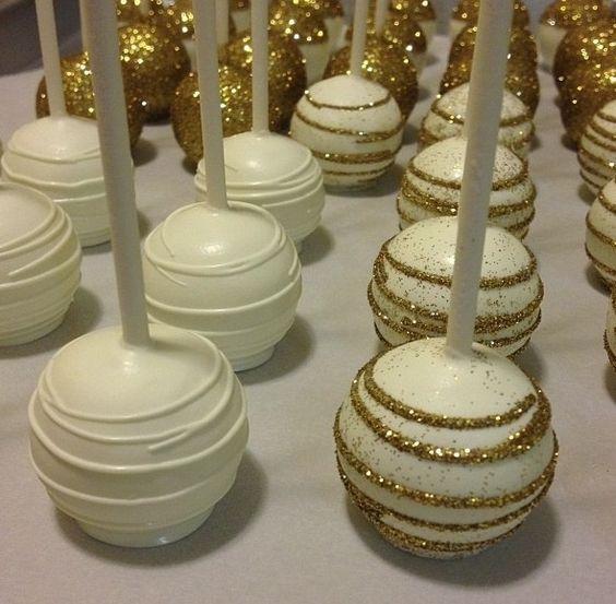 Cake pops bianchi e oro (Fonte foto: food.allwomenstalk.com)