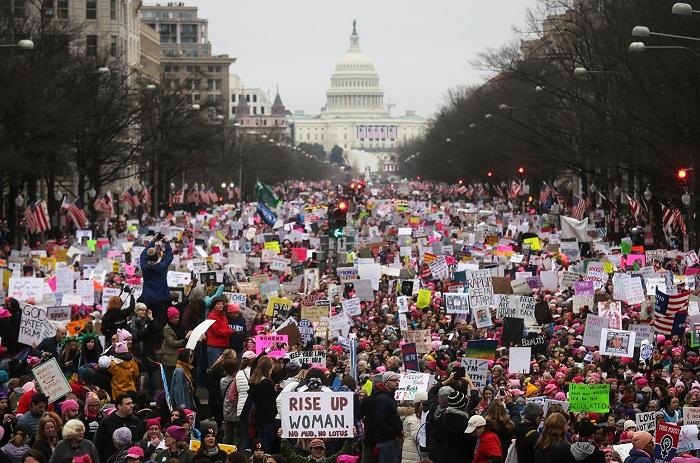 WASHINGTON, DC - 21 gennaio: Women's March. Photo credits: Mario Tama/Getty Images