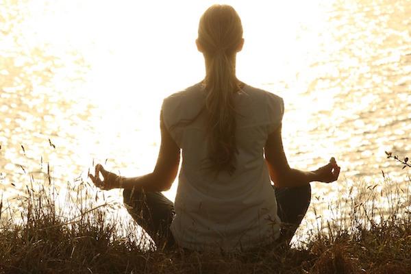 yoga in gravidanza tramonto