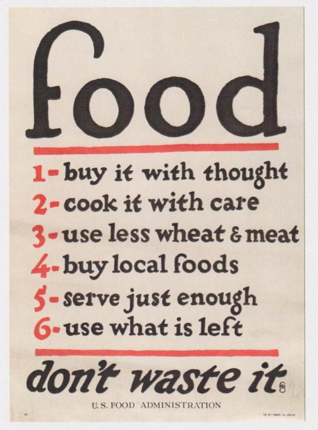 Manifesto Usa 1917