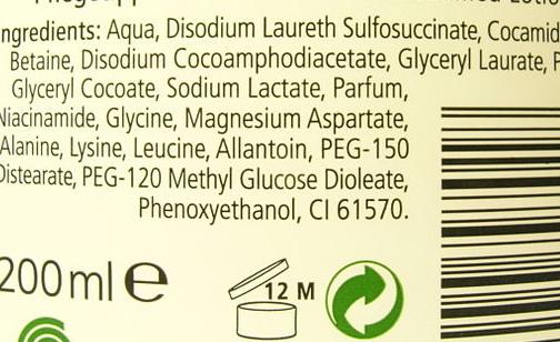 INCI: è la lista di ingredienti presenti in cosmetici e prodotti per igiene personale.