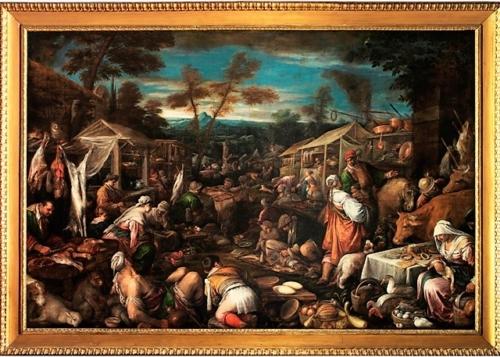 Il grande mercato. Francesco Bassano