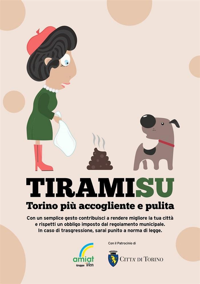 Campagna per la raccolta delle deiezioni canine del comune di Torino, fonte: www.amiat.it