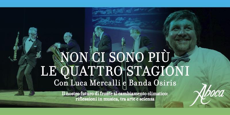 Luca Mercalli locandina