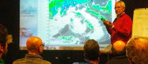 Lezione di meteorologia. Foto: aigae.org