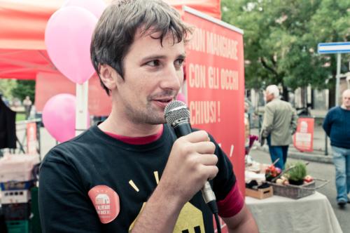 Eugenio Sapora, responsabile in Italia del progetto L'Alveare che dice sì! (fonte: alvearechedicesi.it)