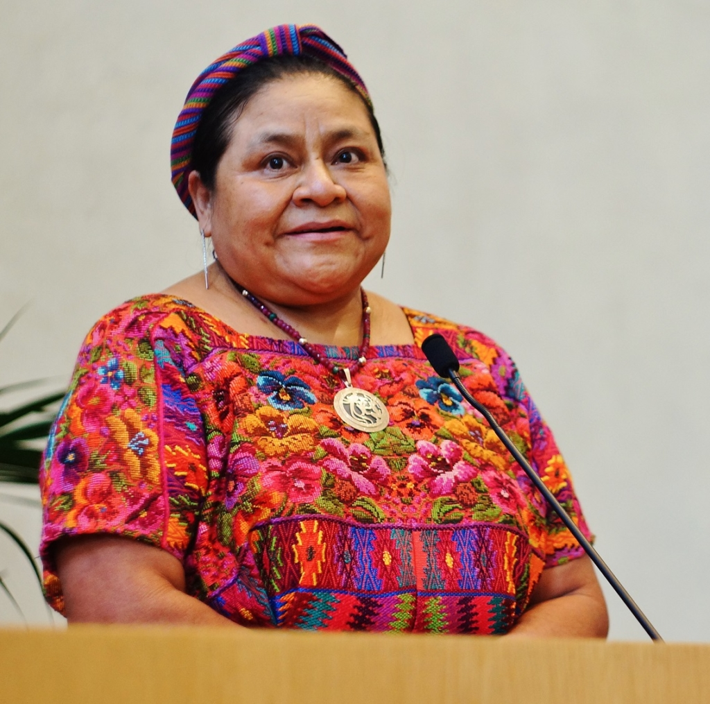 Rigoberta-Menchu-Tum-premio-Nobel-per-la-Pace-nel-1992