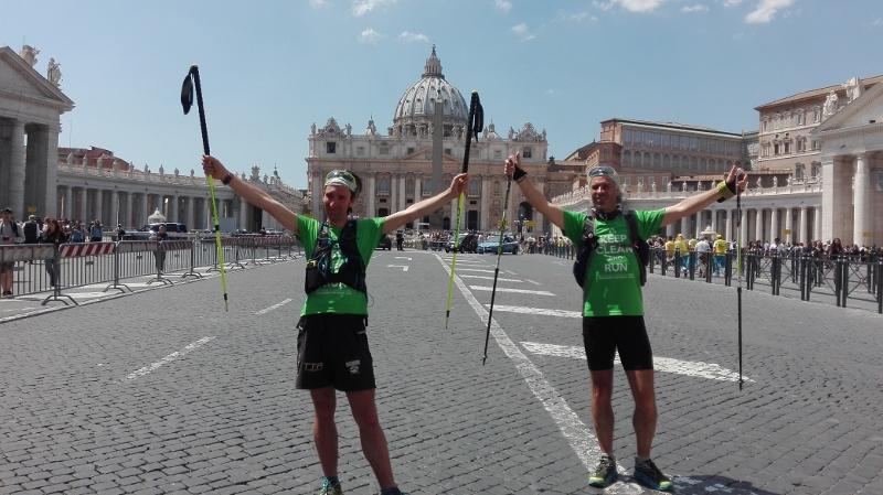 Roma, la tappa finale del Keep Clean and Run 2016