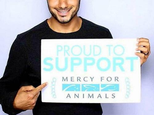 Il principe Khaled bin Alwaleed a sostegno della campagna Mercy For Animals