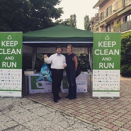 eHabitat ad Avigliana durante la prima edizione di Keep Clean and Run