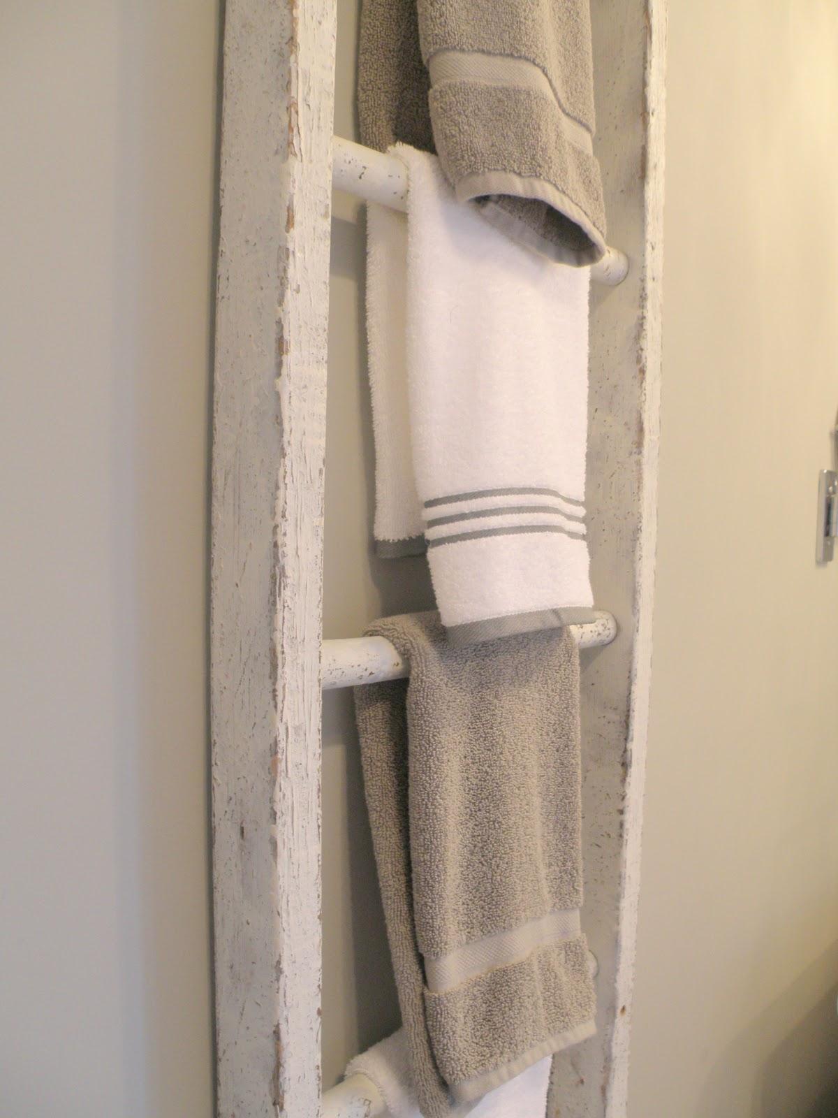 porta asciugamani scala