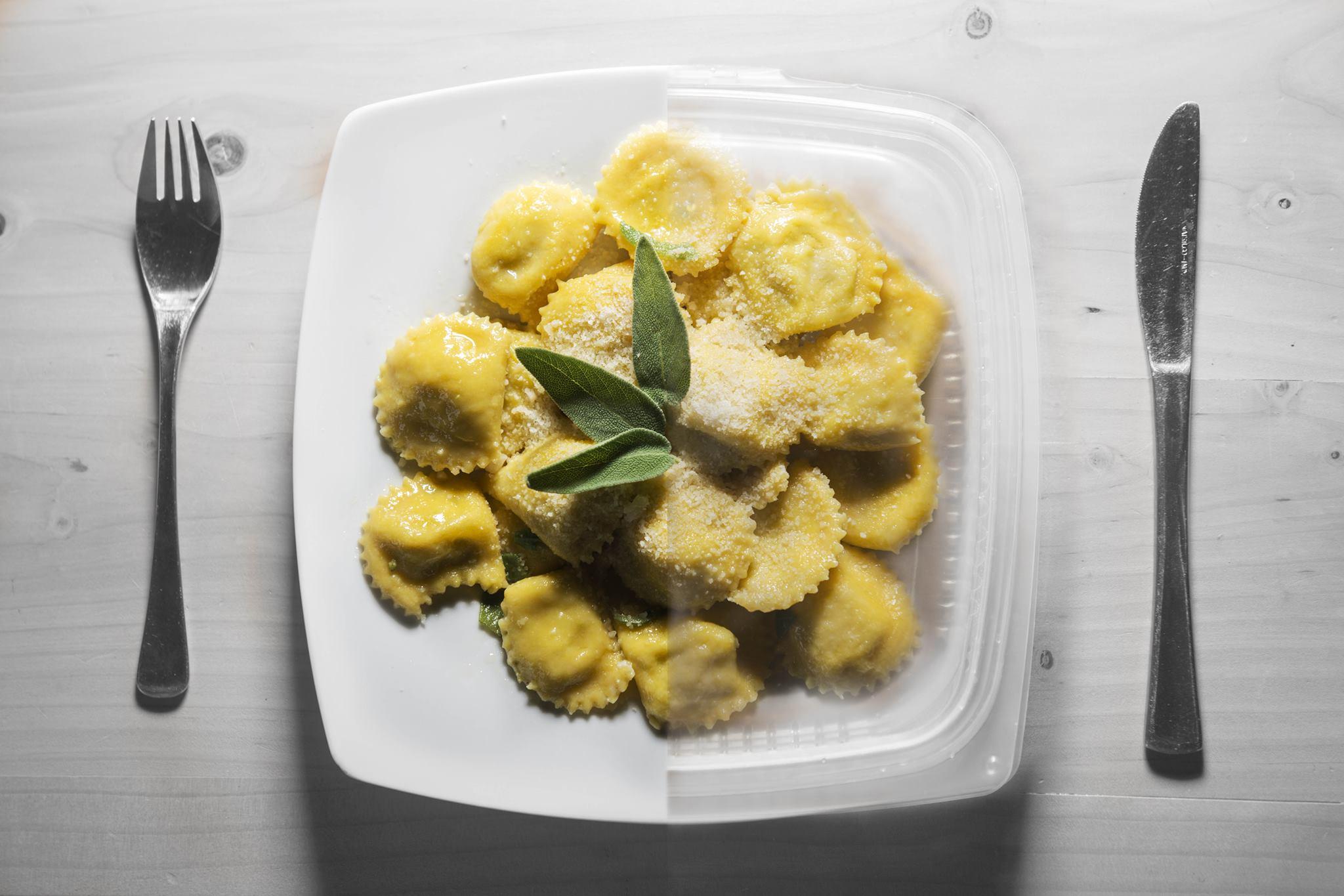 Foto di Daniele Zappi RistoriAMO a Ferrara contro lo spreco del cibo