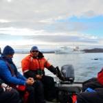 Un campionamento a strascico nel mare Artico