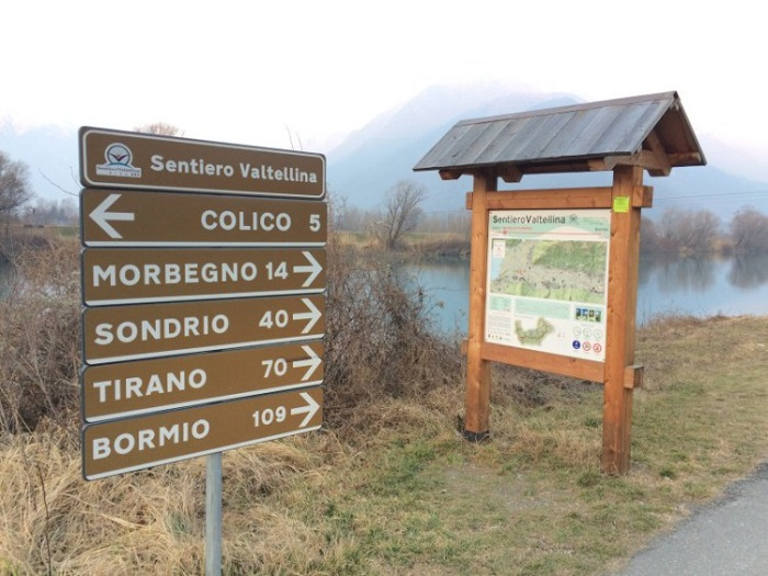 Vacanze in bicicletta - Valtellina