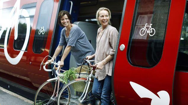 copenaghen bici treno