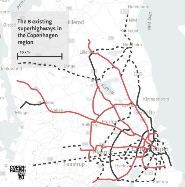 Cartina Piste Ciclabili Olanda.Copenhagen Una Capitale A Misura Di Ciclista