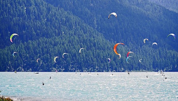 kite surf lago