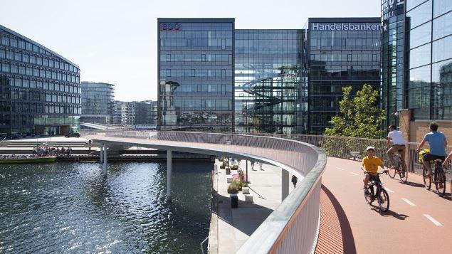 ponte ciclabile Copenhagen