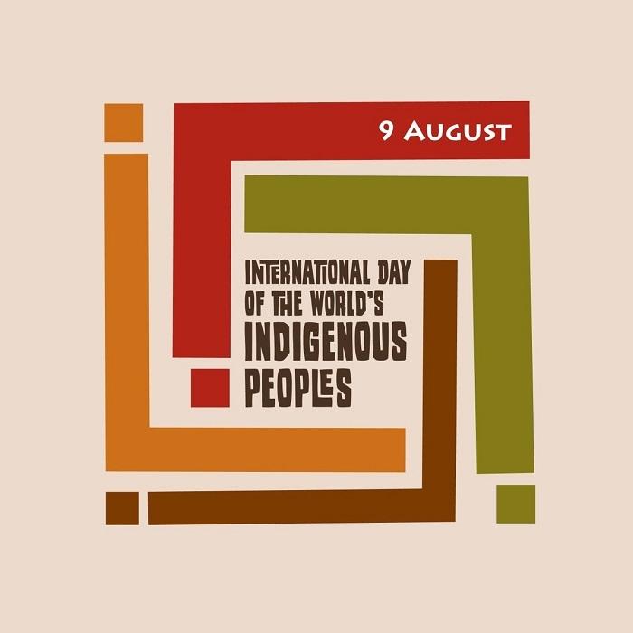 Logo giornata mondiale dei popoli indigeni