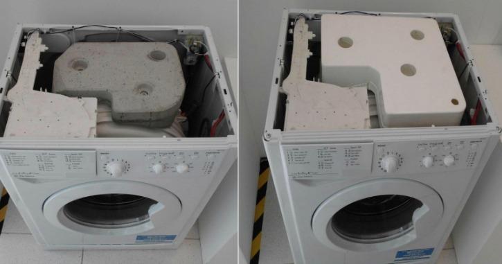 La semplice sostituzione nella lavatrice ideata dallo studente londinese Dylan Knight (Fonte foto: riusa.eu)
