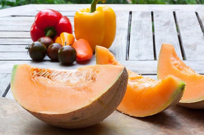 melone e frutta