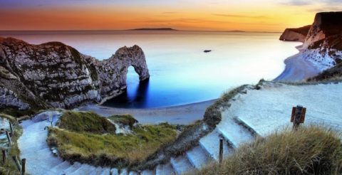 South West Coast Path_Durdle Door