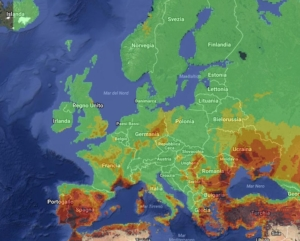incendi in Europa 2017