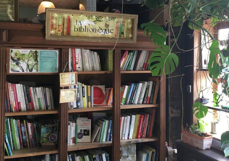 La Recyclerie biblioteca