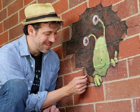 David Zinn e Sluggo