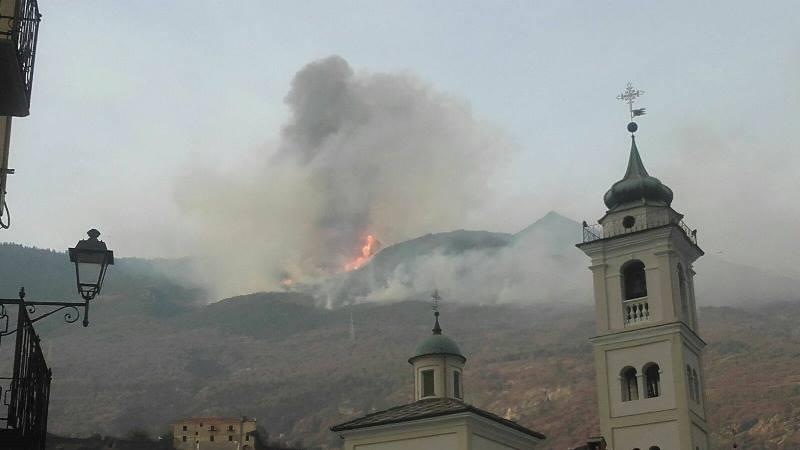 incendio in valsusa 3