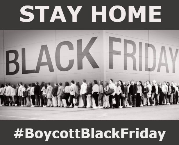 black friday alternative eco consapevoli allo shopping. Black Bedroom Furniture Sets. Home Design Ideas